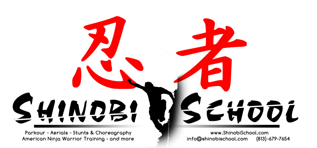 Shinobi School - Tampa Parkour & Ninja Warrior Academy - Logo
